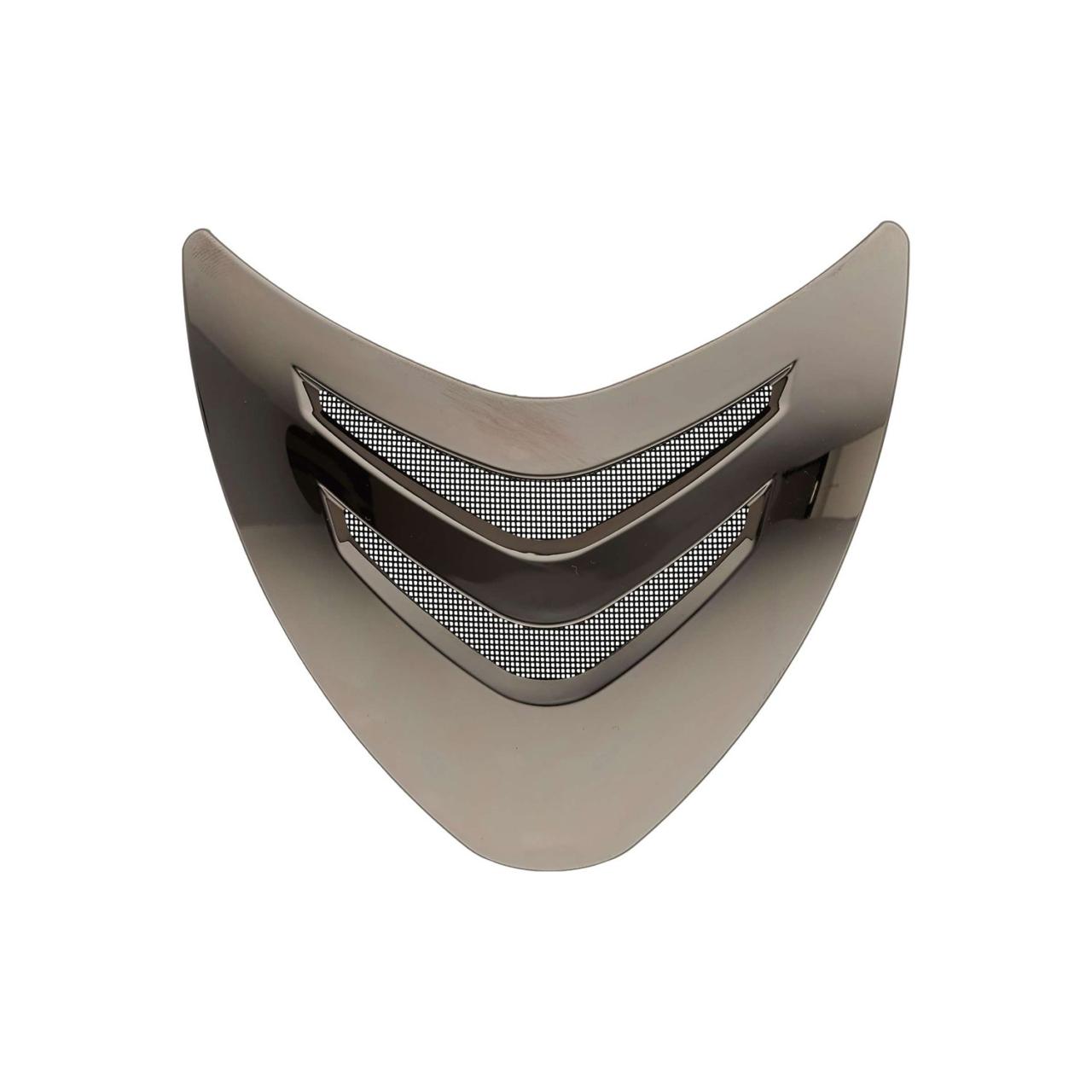 OneK Front vent Sort chrome