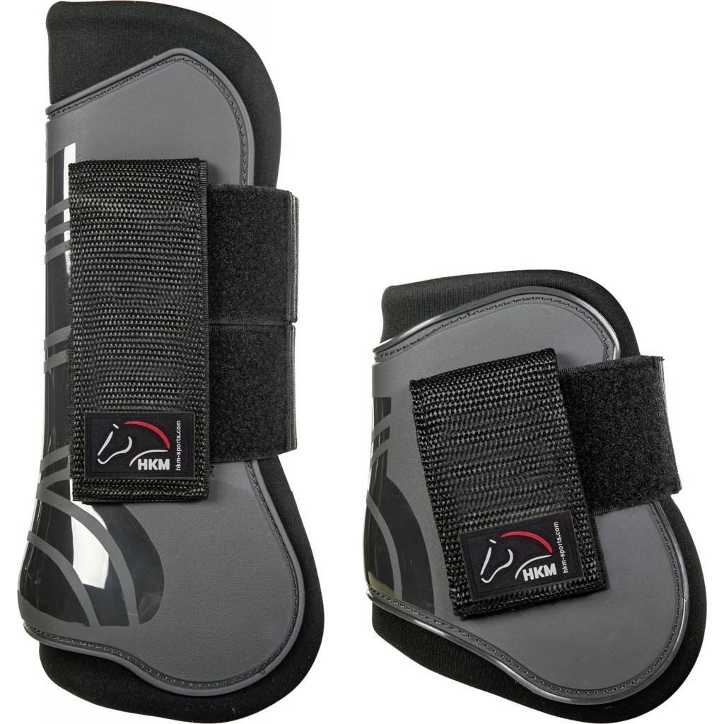 HKM Tendon boots Sort/grå