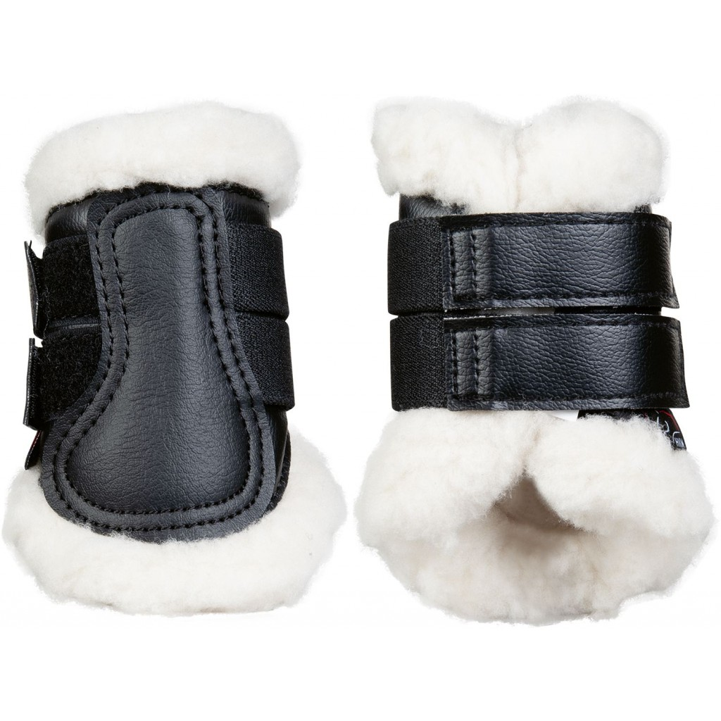HKM Gamacher Comfort sort fake fur